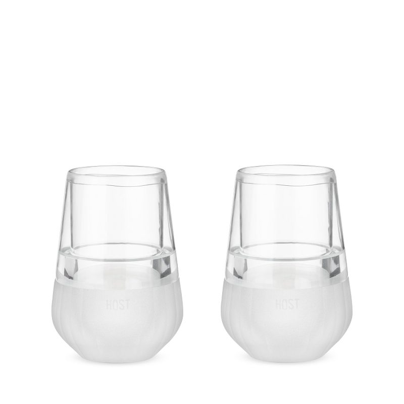 A glass FREEZE™ Wine Glass is the best way to keep your white wine cold or your red wine chilled without diluting your wine. Wine Down | Host Studios Cooling Wine Glasses | Freezer Wine Glasses | Host Glasses | Host Freezer Glasses | Wine Drinking Tips | Tips for Wine Temps | Red Wine Temp Guide | White Wine Temp Guice #wine #glasses