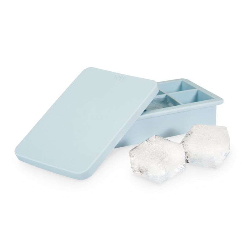 Ice Cube Tray with Lid and Ice