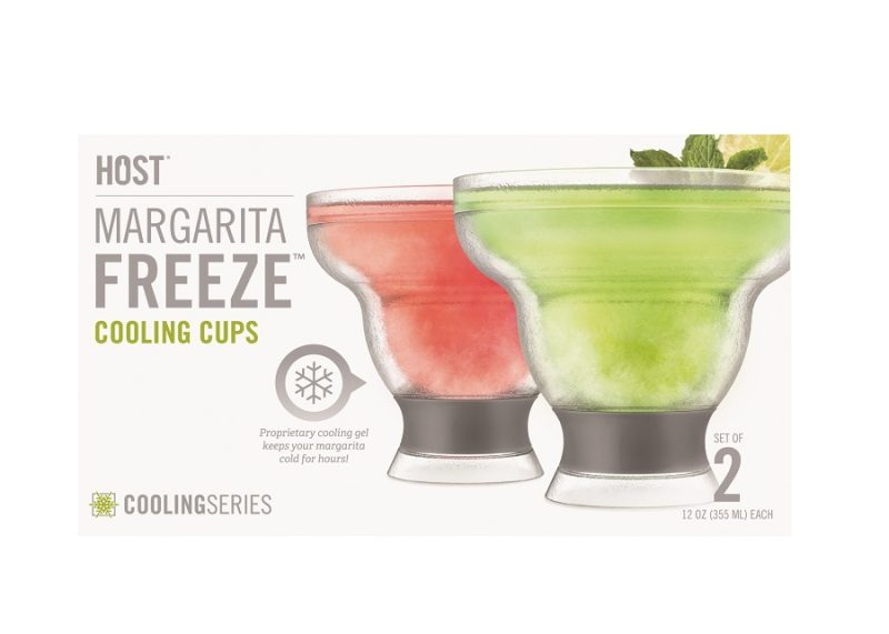 Margarita FREEZE Cooling Cups with Gray Packaging