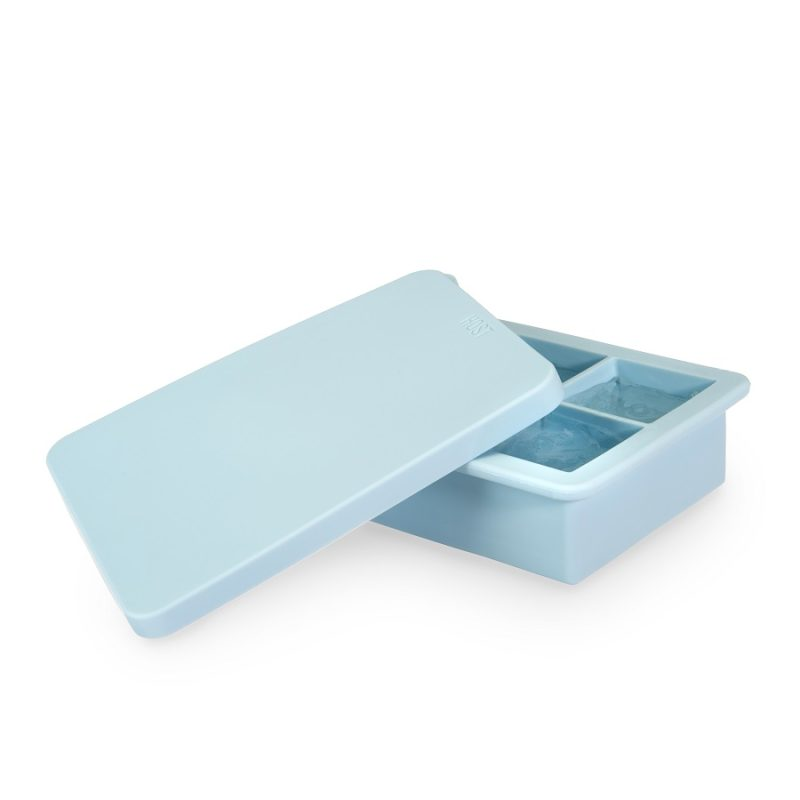Open Ice Cube Tray with Lid