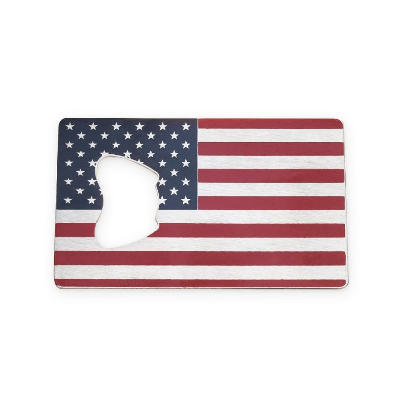 USA Flag Bottle Opener for Men