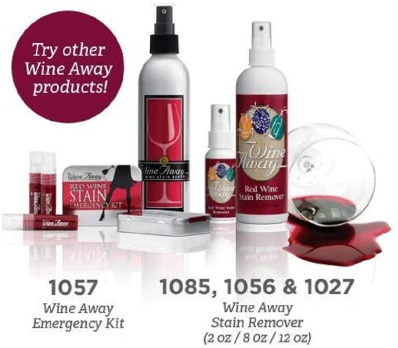 Wine Away Stain Remover Emergency Kit More Wine Away Products