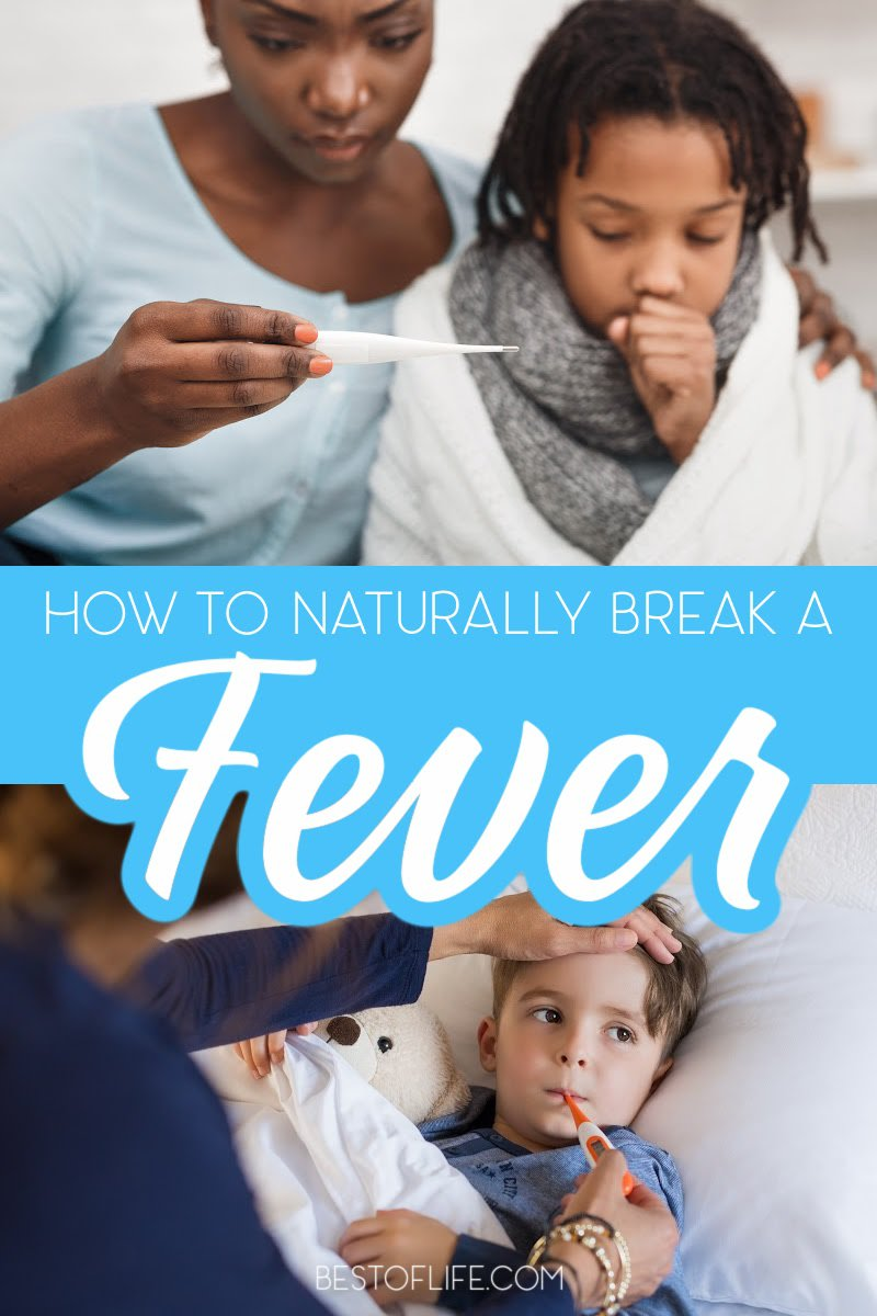 When you know how to break a fever naturally, you can help bring your fever down faster at home and possibly avoid taking medicine altogether. How to Break a Fever Kids | Tips for Sick Children | Tips for Breaking a Fever | Cold Remedies Fast | Home Remedies for Fever | Fever Remedies | Affordable Home Remedies #healthytips #livinghealthy via @thebestoflife