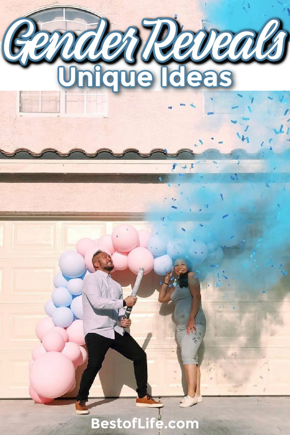 Unique gender reveal ideas are fun ways to reveal the gender of a coming baby to the parents, their family, and their closest friends. Gender Reveal Ideas for Party   Gender Reveal Nursery   Cakes for Gender Reveal Parties   Gender Reveal Decorations   Games for Gender Reveals   Gender Reveal Ideas Themes   Creative Gender Reveal Ideas   Last Minute Gender Reveal Ideas #parenting #babyshower via @thebestoflife