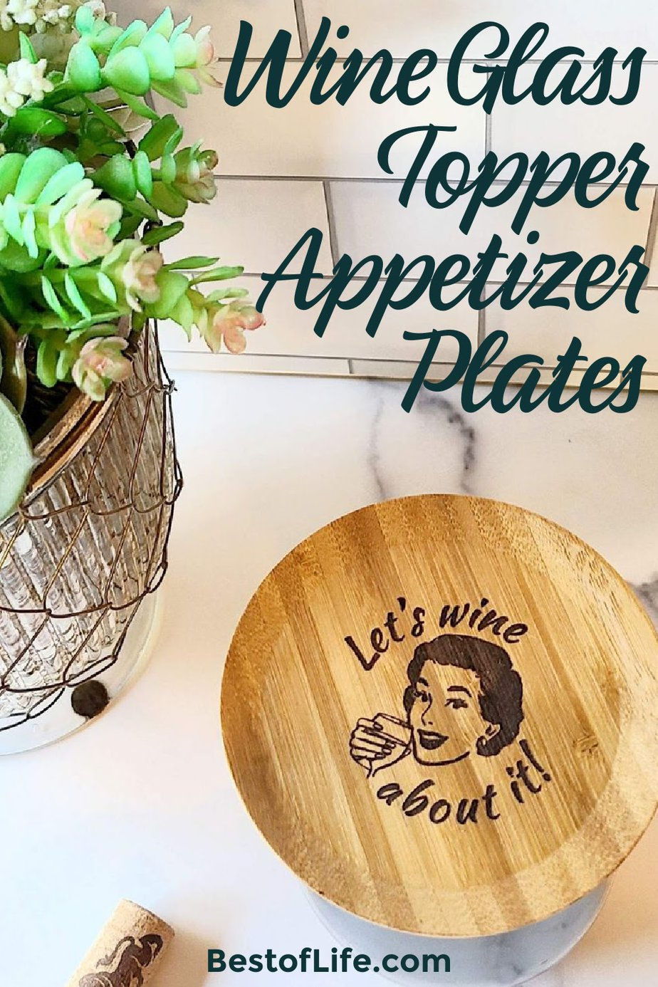 The best wine glass toppers help you mingle and are the perfect small appetizer plate. They serve as a great drink marker and help you show off your personality, too. Wine Glasses | DIY Wine Glass Toppers | Tips for Drinking Wine | Wine Party Ideas | Party Planning | Party Supplies #winedown #partytips via @thebestoflife