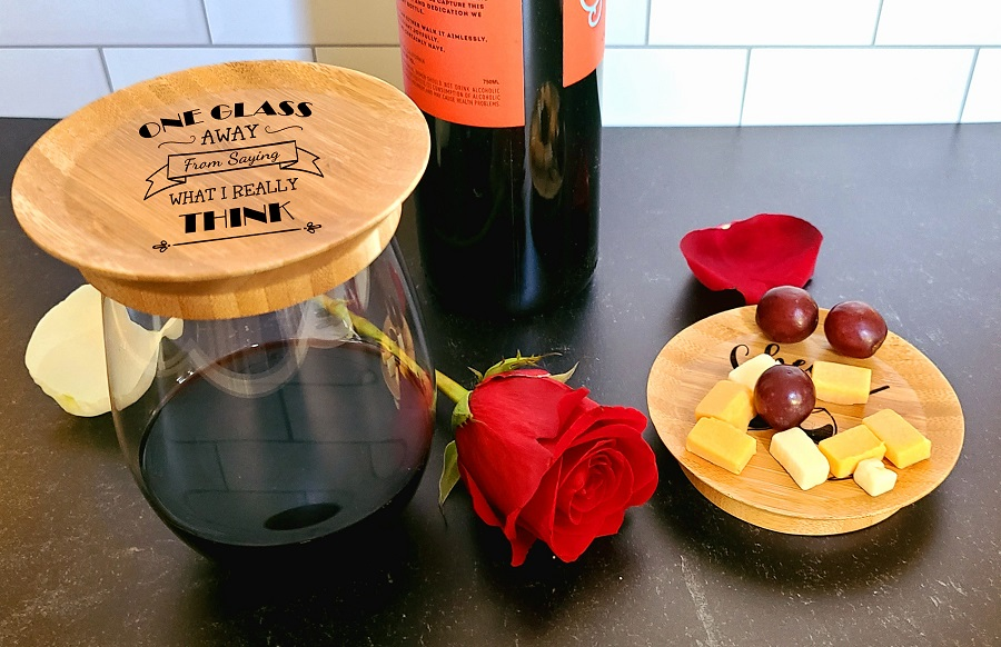 Add a smile to each glass of wine with these wine quotes wine glass toppers!  The perfect mini appetizer plate that nestles on your glass. Wine Quotes | Best Wine Lovers Quotes | Wine Party Planning | Wine Party Tips | Wine Tasting Supplies | Best Quotes | Best Wine Quotes | Wine Down via @thebestoflife
