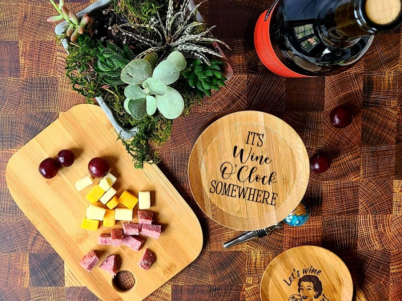 It's Wine o Clock Somewhere Wine Quotes Wine Glass Toppers