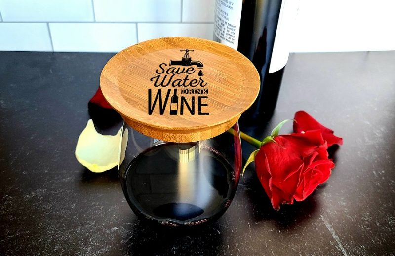 Save Water Drink Wine Wine Quotes Wine Glass Toppers