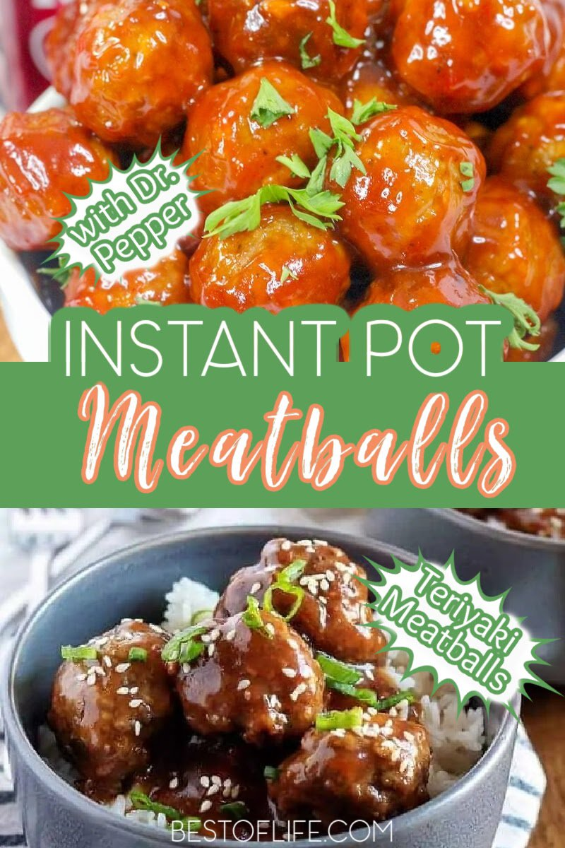 Take your party to the next level with Instant Pot party meatballs recipes that are perfect Instant Pot appetizers. Instant Pot Frozen Meatballs | Instant Pot Party recipes | Pressure Cooker Party Ideas | Grape Jelly Meatballs Instant Pot | Instant Pot Meatballs and Gravy | Appetizers for Parties | Holiday Appetizer Recipes #instantpot #appetizers via @thebestoflife