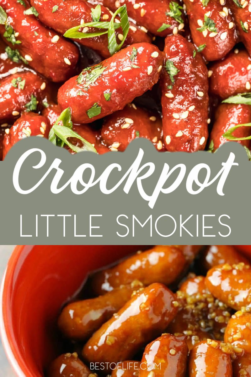 Crockpot little smokies party food recipes are perfect crockpot party recipes with a slew of different tastes available. Crockpot Party Food Crowd Pleasers | Crockpot Sausage Recipes | Little Smokies Recipes | Slow Cooker Party Appetizers | Crockpot Finger Foods Party | Crockpot Recipes for a Crowd | Crockpot BBQ Recipes | Summer Crockpot Recipes #crockpot #bbq via @thebestoflife