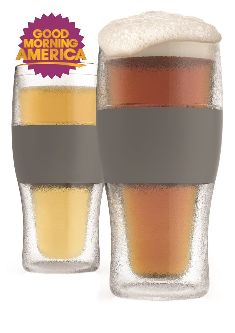 Freeze Cooling Pint Glasses As Seen On Good Morning America