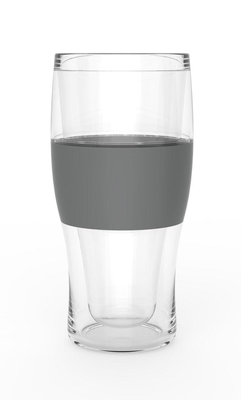 Single Freeze Cooling Pint Glasses Empty