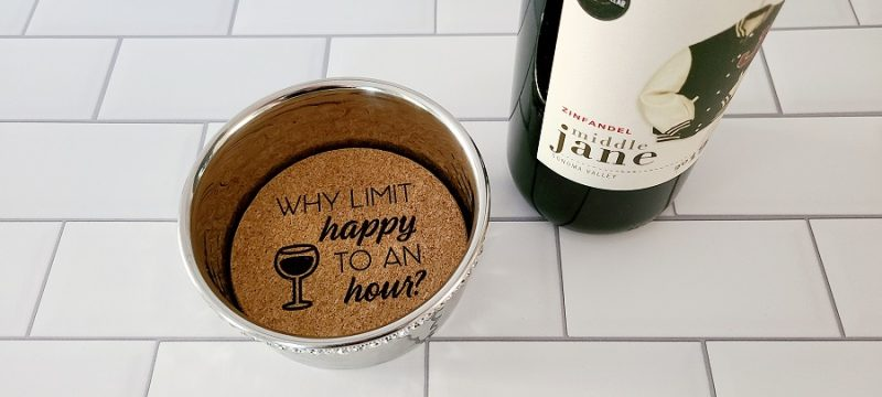 Stainless Steel Wine Bottle Coaster Why Limit