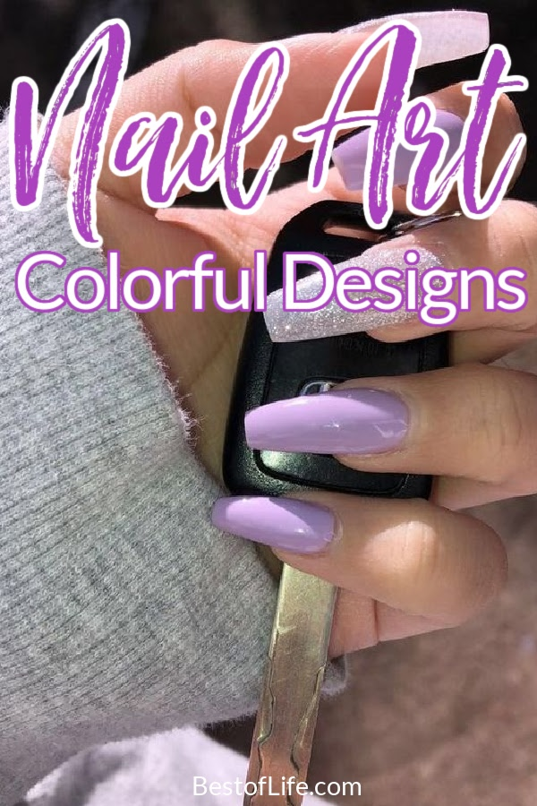 Use some colorful acrylic nail designs that work all year long to enhance your overall look in a fun, fancy, and beautiful way. Acrylic Nail Designs   DIY Acrylic Nail Art   Acrylic Nail Ideas   Colorful Nail Art   Nail Art Tutorials #nailart #diy via @thebestoflife