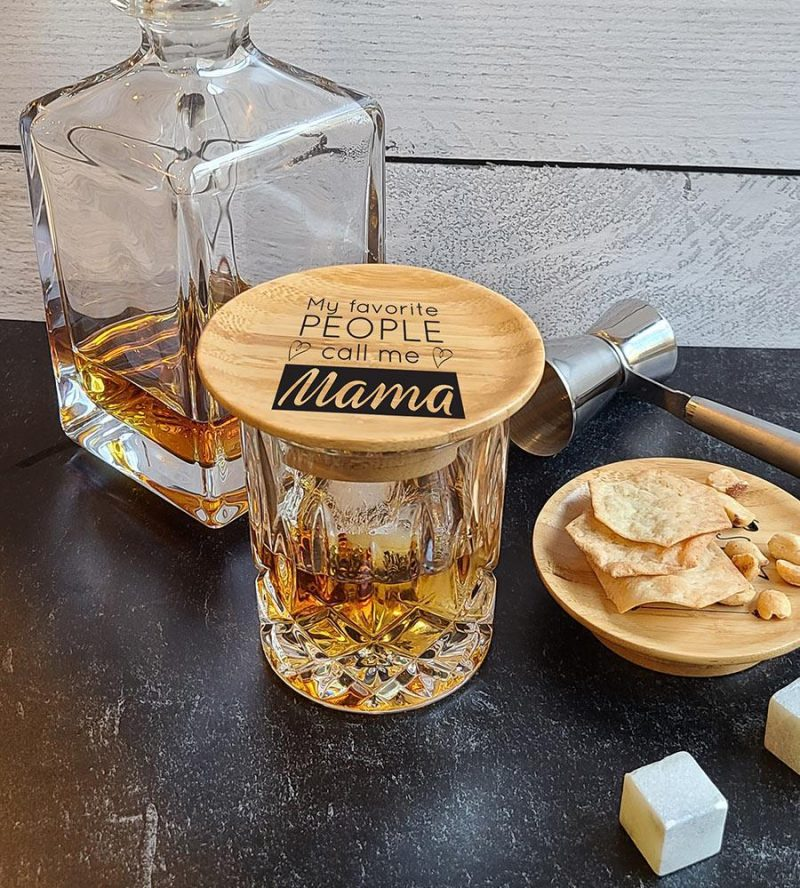 Cocktail Glass Toppers Favorita Mama