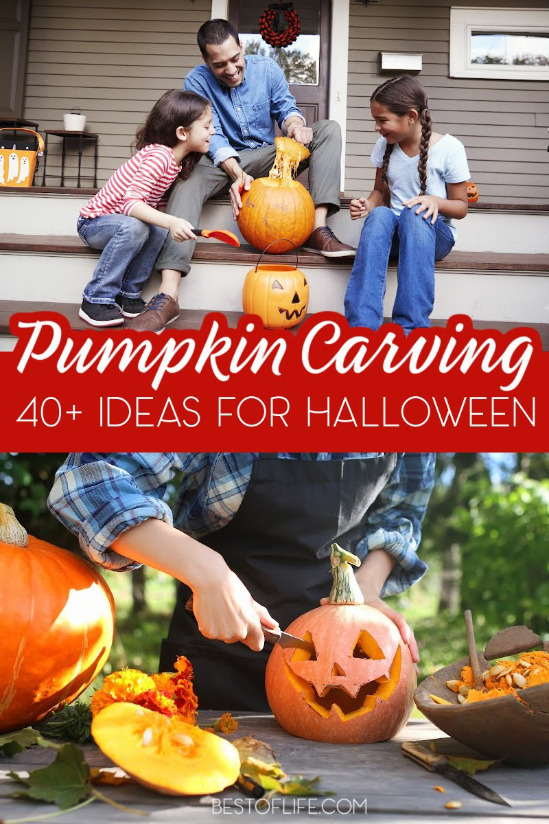 Show your personality on Halloween with pumpkin carving ideas for all ages! Easy Pumpkin Carving Ideas | Disney Pumpkin Carving Ideas | Pumpkin Carving Ideas for Couples | Pumpkin Carving Ideas for Kids | Crazy Creative Pumpkin Carving Ideas | DIY Halloween Decor | Disney Halloween Decor | DIY Pumpkin Carving Tutorials | Pumpkin Carving Stencils | Free Pumpkin Carving Stencils #Halloween #pumpkincarving via @thebestoflife