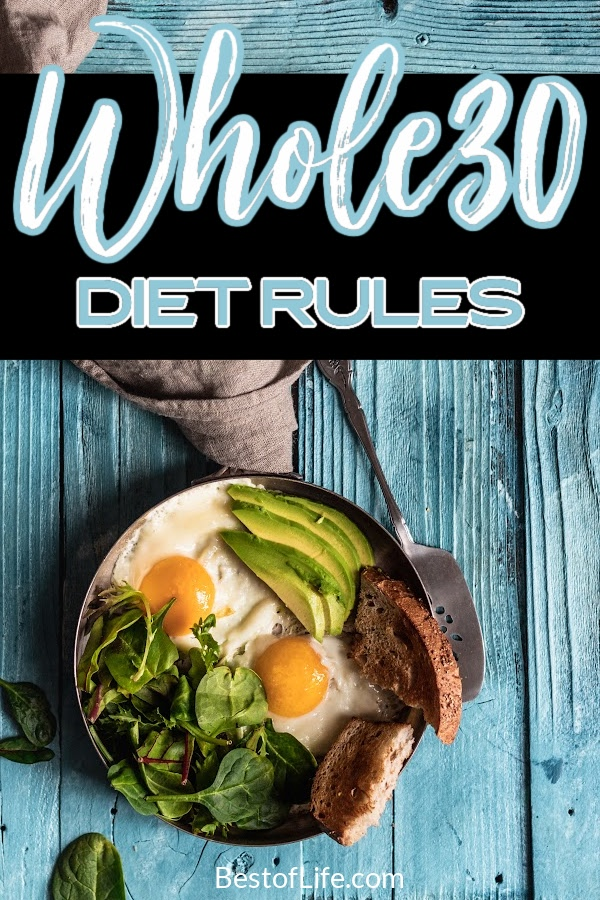 You'll need to know these Whole30 diet rules before you're ready to start your Whole30 diet. They will help you reach your weight loss goals sooner! Whole30 Diet Facts   What is the Whole30 Diet   How to do the Whole30 Diet   Tips for Losing Weight   Weight Loss Tips   What is Whole30   Healthy Weight Loss Ideas   Healthy Recipes for Weight Loss #whole30 #weightloss